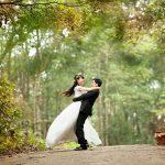 bruiloft buiten